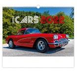 N158 - Nástenný kalendár, Retro Cars