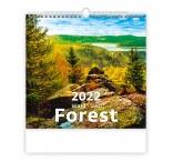 N165 - Nástenný kalendár, Forest/Wald/Les