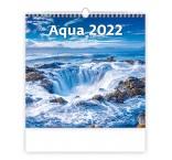 N166 - Nástenný kalendár, Aqua
