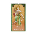 N259 - Nástenný kalendár, Alfons Mucha