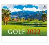 N271 - Nástenný kalendár, Golf