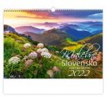 N302 - Nástenný kalendár, Malebné Slovensko