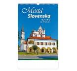 N303 - Nástenný kalendár, Mestá Slovenska