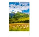 N309 - Nástenný kalendár, Slovenská krajina
