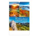 N310 - Nástenný kalendár, Pohľadnice zo Slovenska