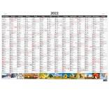 N330 - Plánovacia ročná mapa A1 obrázková (povinné balenie 20 ks)