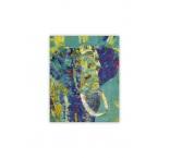 O020 - Drevený obraz, Elephant