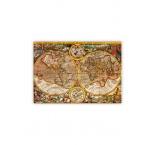 O028 - Drevený obraz, Antique Maps