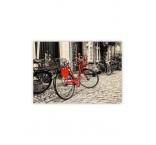 O029 - Drevený obraz, Bicycle