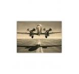 O030 - Drevený obraz, Airplane