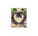 O039 - Drevený obraz, Heart