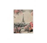 O047 - Drevený obraz, Eiffel Tower
