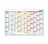 P05-22 - Plánovací kalendár farebný 2022