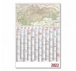 P07-22 - Plánovací kalendár s mapou - 2022