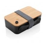 P269.611 - Krabička na jedlo z PP s bambusovým vekom a príborom