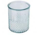P281.250 - Svietnik na čajovú sviečku z recyklovaného skla