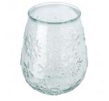 P281.254 - Svietnik na čajovú sviečku z recyklovaného skla
