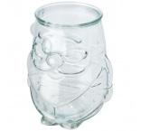 P281.256 - Svietnik na čajovú sviečku z recyklovaného skla