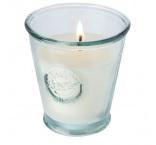P281.258 - Sójová sviečka sa svietnikom z recyklovaného skla