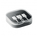 P463.478 - 2 nabíjacie káble (mikro USB a typ C 1A) v krabičke