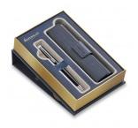 P501.074 - Guľôčkové pero Hémisph?re Essential Black Lacquer CT + puzdro