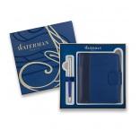 P501.075 - Guľôčkové pero Hémisph?re Deluxe Blue Wave + zápisník