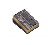 P509.026 - Guľôčkové pero Hémisph?re Stainless Steel CZ + puzdro