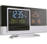 P770.001 - Meteorologická stanica, hodiny, budík, kalendár, teplomer, vlhkomer