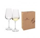 MORETON 2 - VS | Sada 2ks pohárov na biele víno, 250 ml