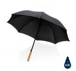 "P850.651 - 23"" bambusový auto-open dáždnik Impact zo 190T RPET AWARE™"