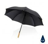 "P850.661 - 27"" bambusový auto-open dáždnik Impact zo 190T RPET AWARE™"