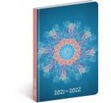 PGD-30245 - 18mesačný diár Petito – Mandala 2021/2022, 11 × 17 cm