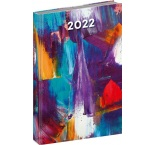 PGD-DA5CF-2001 - Denný diár Cambio Fun 2022, Maľba, 15 × 21 cm