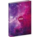 PGD-DA5CF-2002 - Denný diár Cambio Fun 2022, Galaxy, 15 × 21 cm