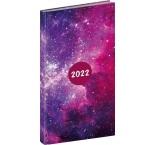 PGD-KAPCF-2002 - Vreckový diár Cambio Fun 2022, Galaxy, 9 × 15,5 cm
