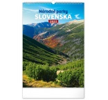 PGN-28942-SK-L - Nástenný kalendár Národné parky Slovenska 2022, 33 × 46 cm