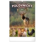 PGN-28950-SK-L - Nástenný kalendár Poľovnícky 2022, 33 × 46 cm