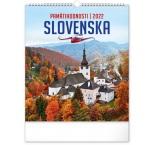 PGN-28972-SK-L - Nástenný kalendár Pamätihodnosti Slovenska 2022, 30 × 34 cm