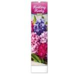 PGN-28974-L - Nástenný kalendár Květiny – Kvety CZ/SK 2022, 12 × 48 cm