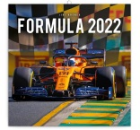 PGP-30058-V - Poznámkový kalendár Formule – Jiří Křenek 2022, 30 × 30 cm