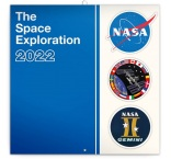 PGP-30060-V - Poznámkový kalendár NASA 2022, 30 × 30 cm