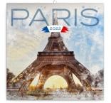 PGP-30084-V - Poznámkový kalendár Paríž 2022, 30 × 30 cm