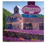 PGP-30090-V - Poznámkový kalendár Provence 2022, voňavý, 30 × 30 cm