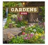 PGP-30092-V - Poznámkový kalendár Záhrady 2022, 30 × 30 cm