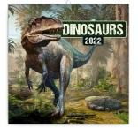 PGP-30108-V - Poznámkový kalendár Dinosaury 2022, 30 × 30 cm