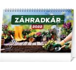 PGS-30209-SK - Stolový kalendár Záhradkár 2022, 23,1 × 14,5 cm