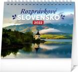 PGS-30210-SK - Stolový kalendár Rozprávkové Slovensko 2022, 16,5 × 13 cm