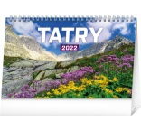 PGS-30213-SK - Stolový kalendár Tatry 2022, 23,1 × 14,5 cm