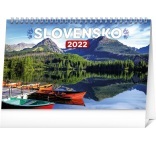 PGS-30214-SK - Stolový kalendár Slovensko 2022, 23,1 × 14,5 cm