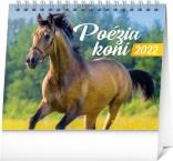 PGS-30221-SK - Stolový kalendár Poézia koní 2022, 16,5 × 13 cm